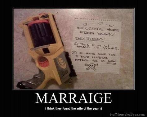 Nerf Gun Meme - good marraige meme cool wife nerf gun cuteness