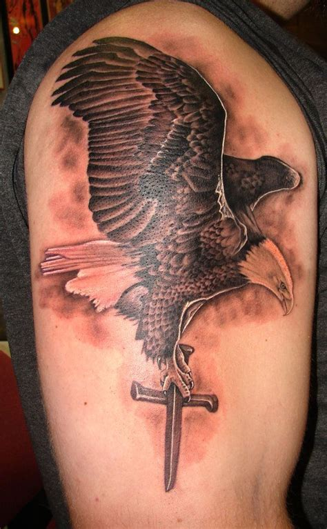 tattoo baby eagle 30 awesome eagle tattoo designs best eagle tattoos