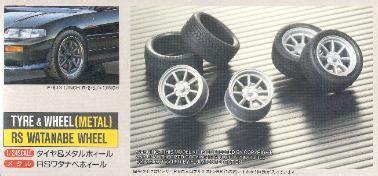 Fujimi Skala 1 24 Oz Racing 17 Inch fujimi wheel and tire set