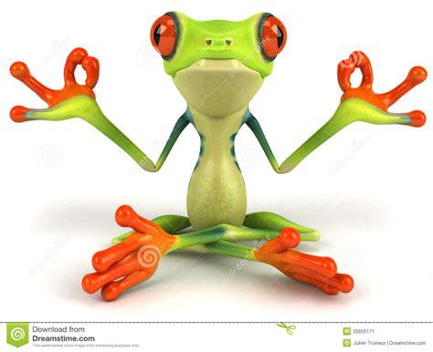 yoga zen clip art free zen frog clipart