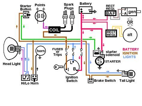 pit bike wiring diagram electric start help pit bike club