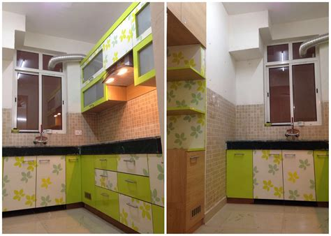 working indian modular kitchen design detail simple  vibrant colours plan  design