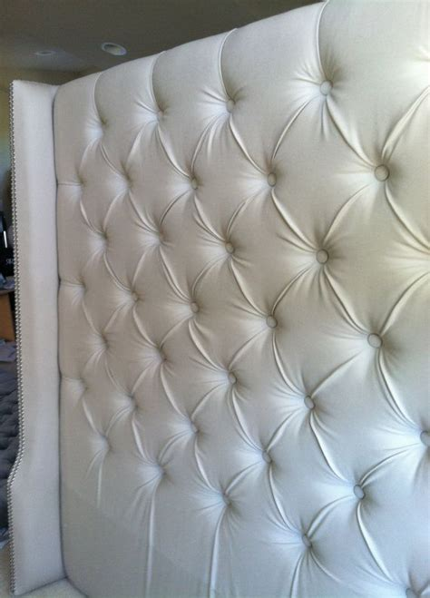 diy tufted wingback headboard tufted twill wingback headboard king by samanthadanielle bedroom inspiration