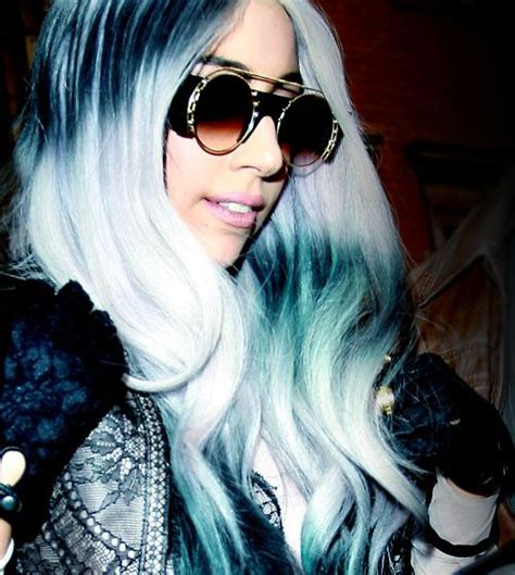 ladyphenom gray hair 1000 images about lady gaga on pinterest