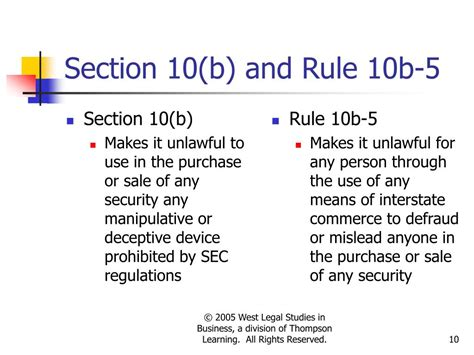 Section 10b And Rule 10b 5 28 Images Insider