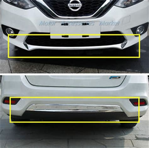 New Agya 2017 Type G Rear Reflektor Cover Chrome new 2pcs chrome front rear bumper cover trim for nissan sentra 2016 2017 ebay