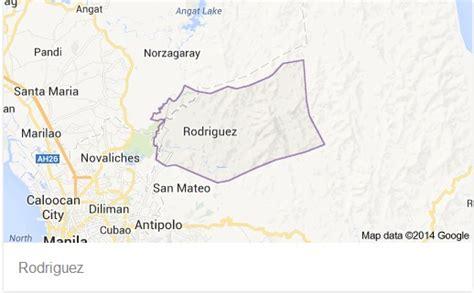san jose rodriguez rizal map landslide kills 2 in rizal inquirer news