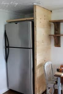 keeping it cozy kitchen update building a refrigerator