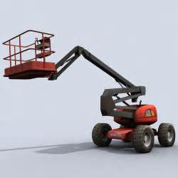 Cherry Picker Description by 3d Model Cherry Picker