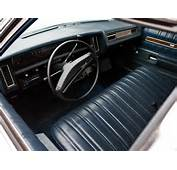 Interior 1973 Chevrolet Impala Sedan Fire Chiefs Car L 69