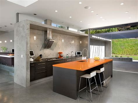 orange kitchen design orange and black interiors living rooms bedrooms and