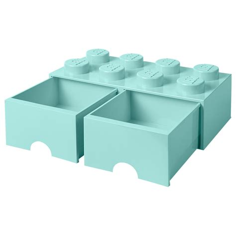 Sale Storage Brick 2 Knobs Lego lego inredning lego brick drawer 8 knobs green