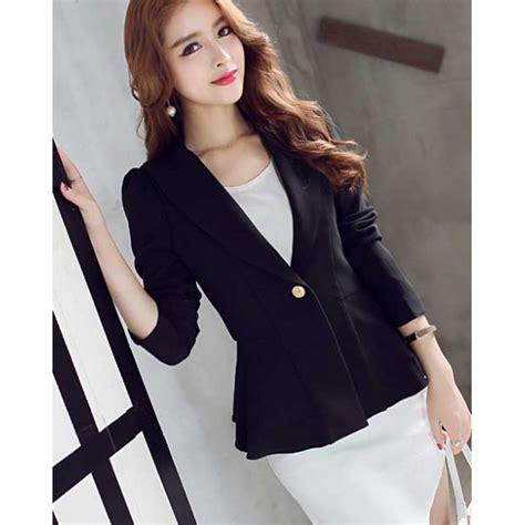 Blazer Wanita blazer wanita korea t2907 moro fashion