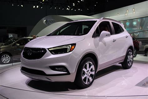 2017 Buick Encore Gets Fresh Looks Tech 187 Autoguide
