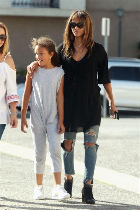 Halle Berry Daughter Nahla Aubry Sandra Rose