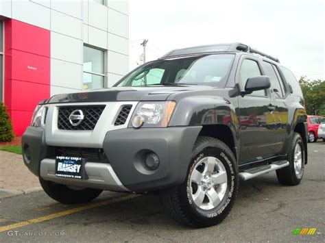 2009 armor metallic nissan xterra s 4x4 18446461 gtcarlot car color galleries
