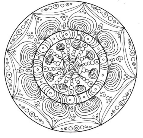 45 Printable Complex Coloring Pages The Difficult Level Complex Mandala Coloring Pages