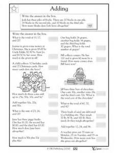 17 best images of problem solving 2nd grade addition