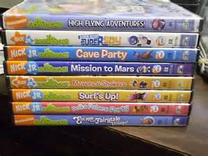 Backyard Adventures Treehouse 9 Nick Jr The Backyardigans Dvd Lot Super Spy Mars