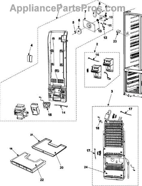 samsung microwave parts diagram samsung da32 10105g senso appliancepartspros