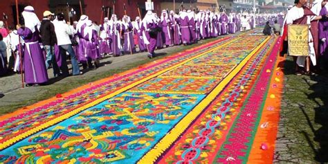 alfombras semana santa guatemala las primeras procesiones de semana santa en guatemala