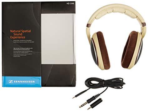 Asli Impor Sennheiser On Ear Stereo Headphone Hd 2 10 sennheiser hd 598 ear headphones ivory import it all