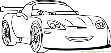 Cars 3 Coloring Car Pictures Car Canyon