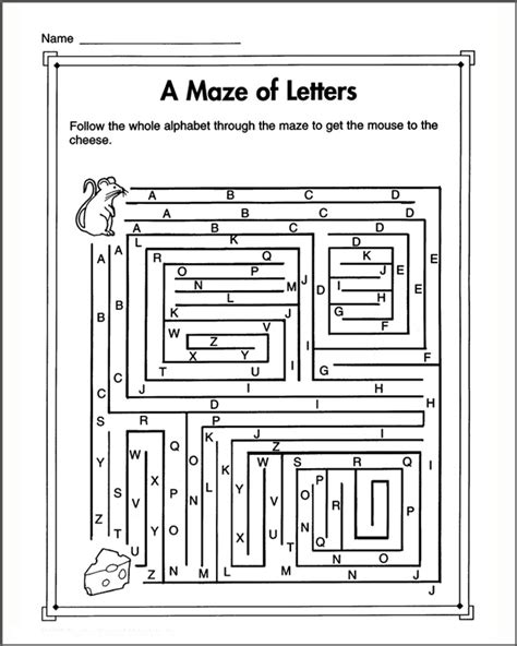 printable mazes first grade printable mazes for kids 1st grade image search results