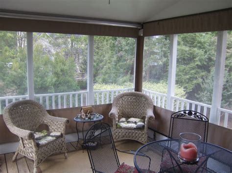 screen porch weather curtains blankets throws ideas inspirations