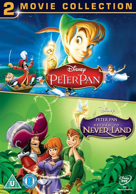 peter pan    duo pack dvd thehutcom