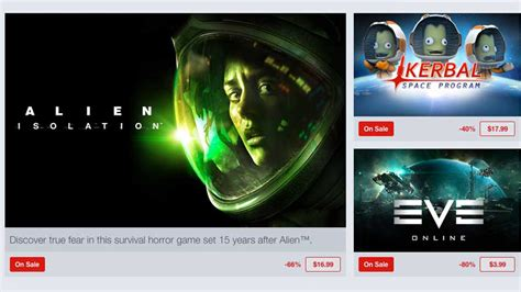 Promo Isolation Ps4 isolation and more discounted in humble store space sale vg247