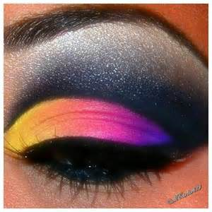 colorful eyeshadow colorful and dramatic eyeshadow photograph by