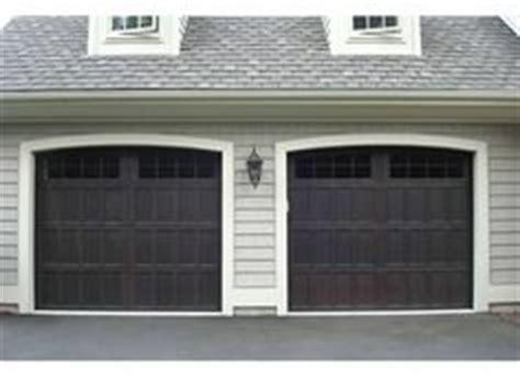 Wayne Dalton Garage Door Colors Wayne Dalton Semi Custom Steel Carriage House Door Model 9700 Faux Finished Walnut Color
