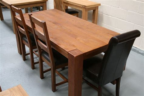 oak dining table and benches boston dark oak dining furniture chunky benches tables