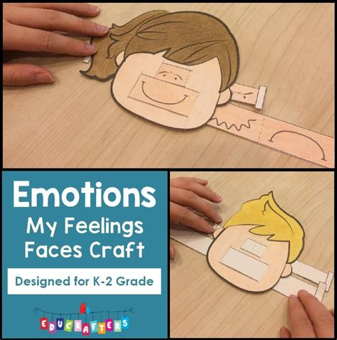 and our faces my my feelings faces craft freebie our kiddos loved it and yours will too emotions theme