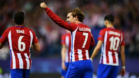 atletico madrid atleti s griezmann made leicester change shakespeare