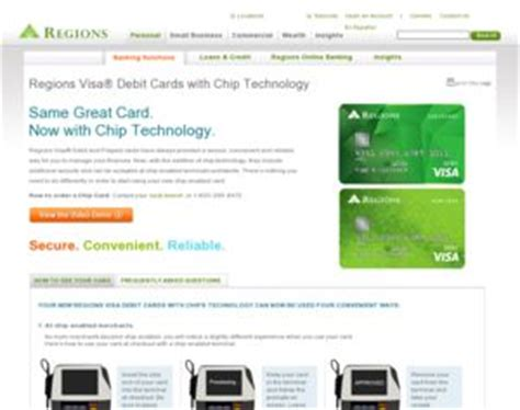 Regions Prepaid Gift Card - regions bank regions visa 174 debit cards with chip technology regions