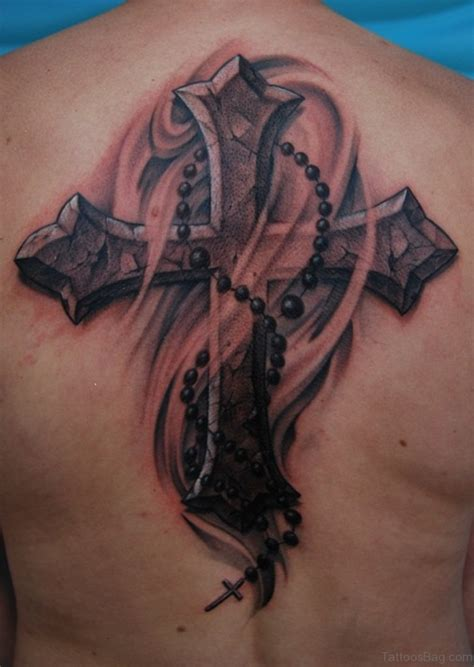 tattoo cross on back 97 stunning cross tattoos for back