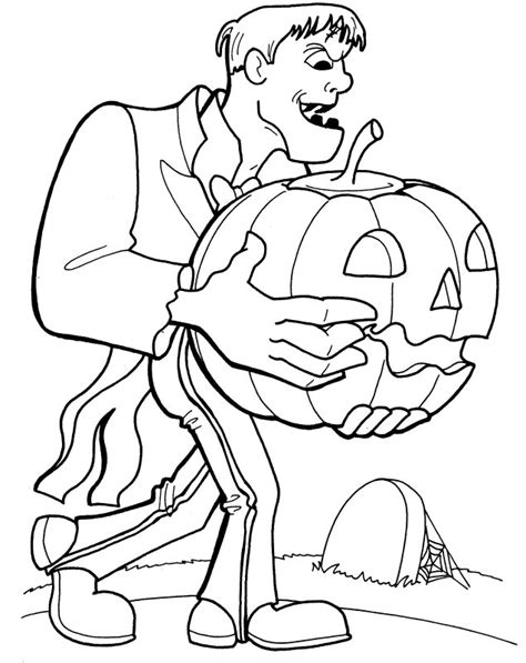 frankenstein coloring pages printable coloring pages