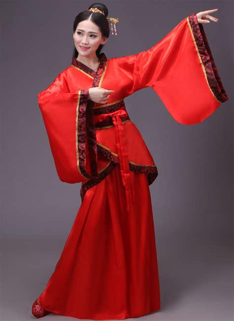 traditional  ancient beautiful hanfu chinese costume