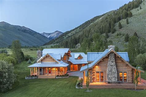 ranch homes idaho ranches for sale pioneer moon ranch
