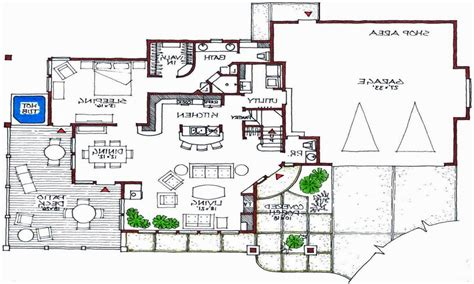 modern open floor plan modern house floor plans simple small house floor plans