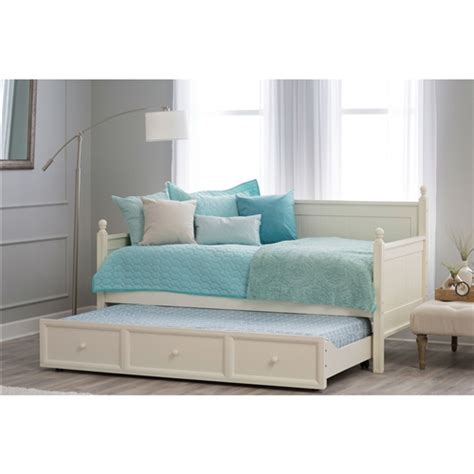 White Wood Daybed With Trundle Size White Wood Daybed With Pull Out Trundle Bed Fastfurnishings