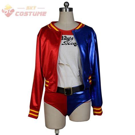 H M Set Tshirt Joger batman harley quinn squad jaket t shirt shorts wig