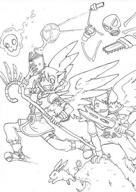 terraria game coloring pages coloring pages