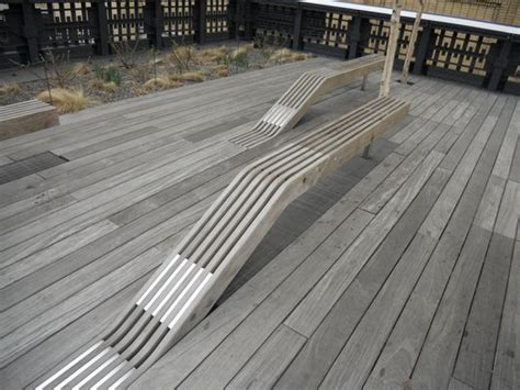 public benches everything goes multimedia adventurous public bench designs