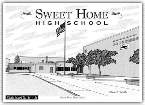 sweet home high school