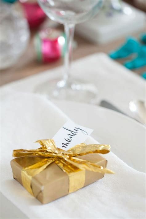 cadeau de table noel r 233 aliser un marque place no 235 l original et tr 232 s festif