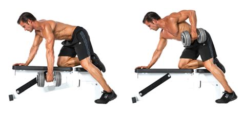 one arm dumbbell row without bench 20 moves for a jacked back muscle performance