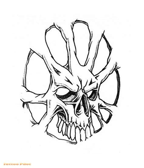 funny photos skull tattoo designs photos clip art library